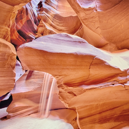 famous Antelope Canyon, Page, Arizona, USA  Stock Photo - 15884567