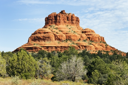 Some of the red rock of Sedona Arizona  photo