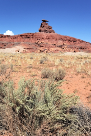 view of the famous mexican hat, USA Stock Photo - 16684536