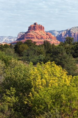fe: famous red rock of Sedona, USA