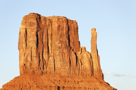 arizona landscape: view of Monument Valley West Thumb