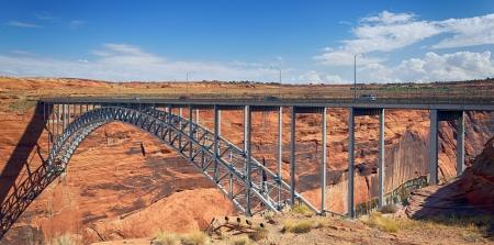 Navajo Bridge over the Colorado River near Page, Arizona USA Stock Photo - 17112029