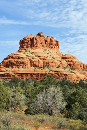 fe: famous big red rock of Sedona, USA Stock Photo