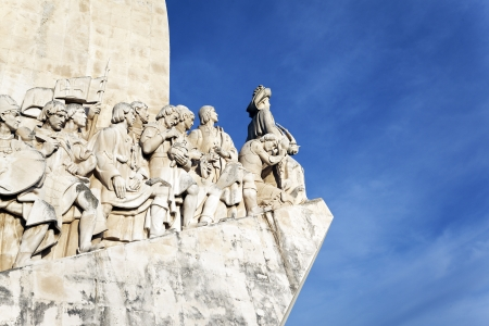 lisbonne: The famous Padrao dos Descobrimentos, monument in Lisbon Editorial