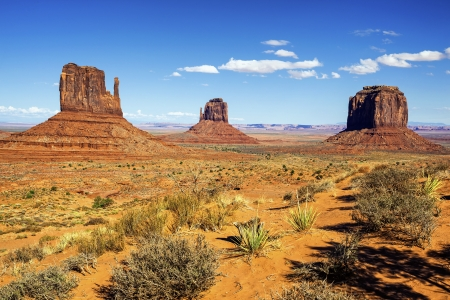 native american: view of Monument Valley, Utah, USA.