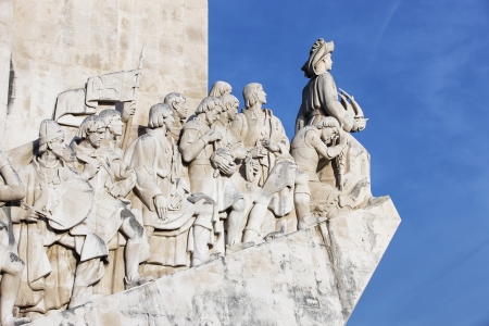 discoveries: monument to the discoveries Lisbon