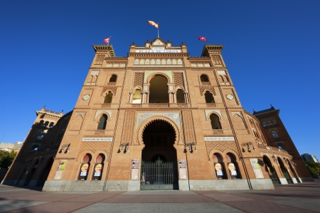 Las Ventas Bullring, Plaza de Toros in Madrid, Spain