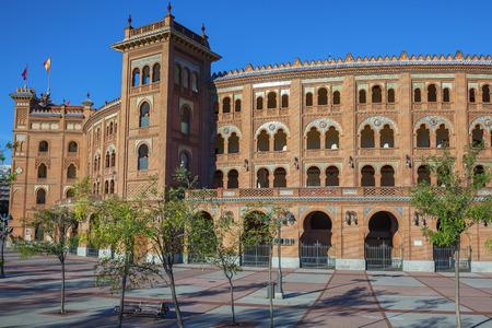 Famous Las Ventas Bullring in Madrid, Spain