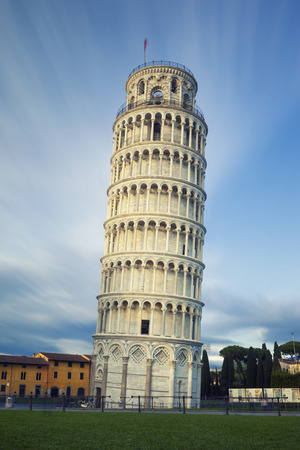 Famous Leaning Tower of Pisa in Tuscany
