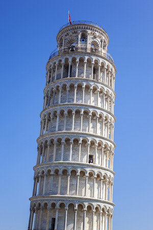 pise: Famous Leaning Tower of Pisa in Tuscany