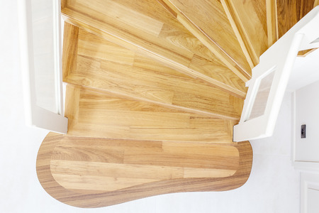 cosiness: wooden stairs