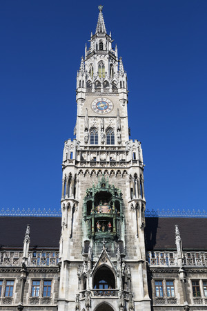 bayern old town: New Town Hall in Munich, Germany