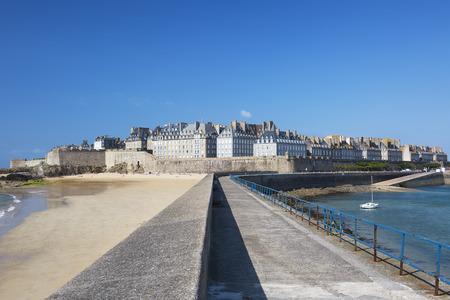 bretagne: View of Saint Malo, Bretagne, France