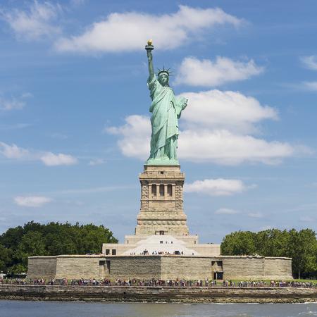 liberty: Statue of Liberty, Liberty Island, New York. Stock Photo
