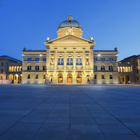 canton berne: Federal Palace of Switzerland, Curia Confoederationis Helveticae, Bern, capital city of Switzerland