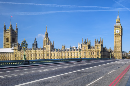 Big Ben and House of Parliament, London, UK Editorial
