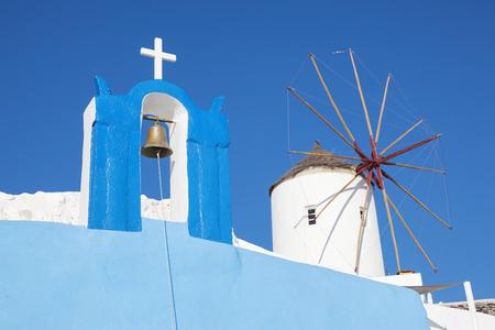 oia: Santorini, Greece - Oia village, typical view