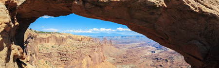 View of Mesa Arch, Canyonlands National Park, Utah , USA