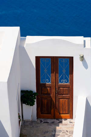 Door in Oia, Santorini, Greece