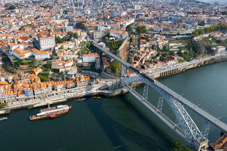 Aerian viw of Porto, Portugal, Europe