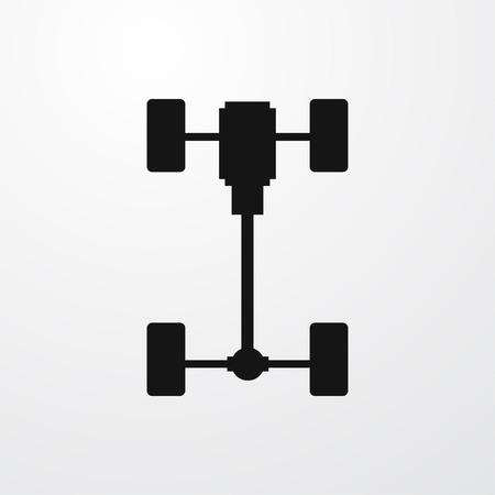 Assale icona illustrazione isolato vettore simbolo segno Vettoriali