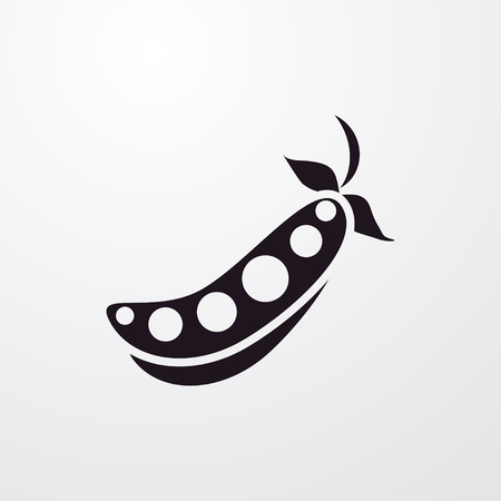 peas icon illustration isolated vector sign symbol