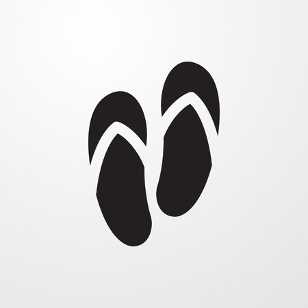 slipper: slipper icon illustration isolated sign symbol