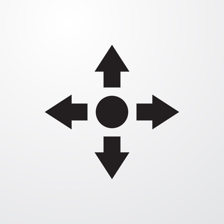 move icon illustration isolated vector sign symbol