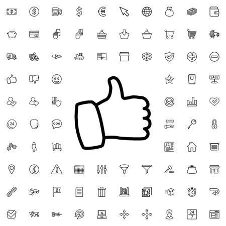 like icon illustration isolated vector sign symbol