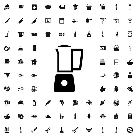 graphic icon: blender icon illustration isolated vector sign symbol