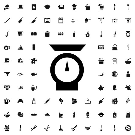 weigher: weigher icon illustration isolated vector sign symbol