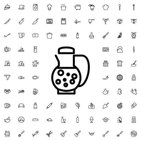 decanter: decanter icon illustration isolated vector sign symbol
