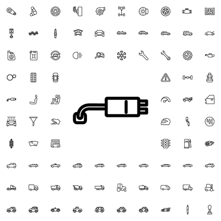 plug adapter: plug socket icon illustration isolated vector sign symbol Illustration