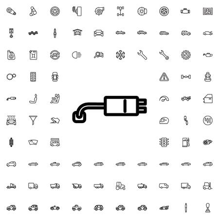 plug socket: plug socket icon illustration isolated vector sign symbol Illustration