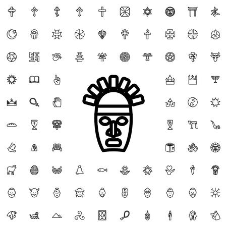 swastika icon illustration isolated vector sign symbol