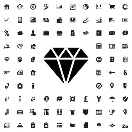 gem: gem icon illustration isolated vector sign symbol