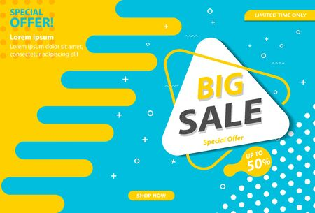 big sale promotional banners for advertisements, labels, or for other purposes