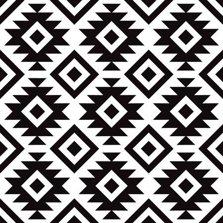Dekoratives Muster für Hintergrund, Fliese und Textilien. Es ist aus modularen Teilen zusammengesetzt. Vektor. Nahtlos.