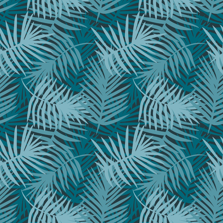 Decorative pattern for the background, tile and textiles. It is assembled from modular parts. Vector. Seamless. Turquoise. Illusztráció