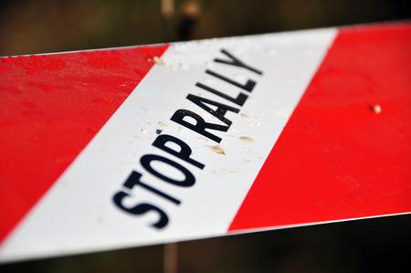 rally: Stop rally