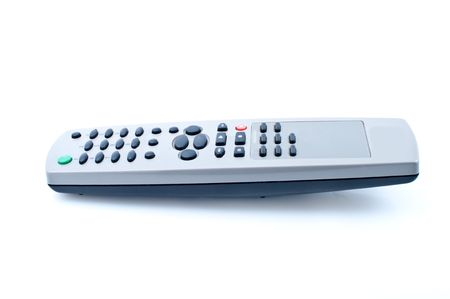 vod: Universal remote control, isolated on white background
