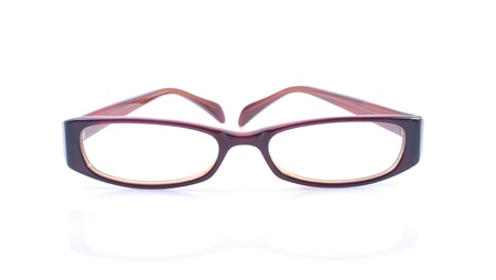 glasses isolated on the white background Stock Photo - 8439926