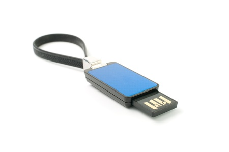 Usb flash memory isolated on white background. Stock Photo - 9207219