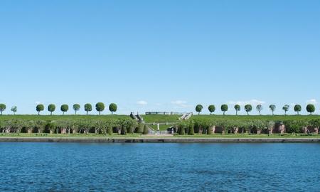 peterhof:  Park in Peterhof,St.Petersburg, Russia