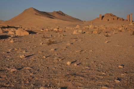 disuse: Though the ancient site fell into disuse after the 16th century, it is still known as Tadmor in Arabic. Palmyra is completely in middle of nowhere - lost in death syrian desert.