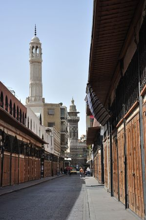 Medhat Pasha Souq (also called Al-Taweel Souq) is a historical souk which forms the eastern half of the Street Called Straight inside the old walled city of Damascus, Syria.