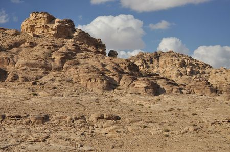 Around the archeoligical site Petra is so much fantastic and breath-taking view, just go hiking there. photo