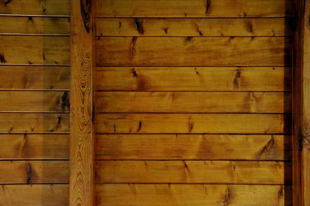 background texture of wooden boards ceiling photo