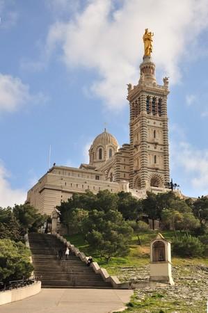 Notre Dame de la Garde, Marseille photo