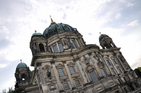 colloquial: Berlin Cathedral, German: Berliner Dom is the colloquial name for the Evangelical Oberpfarr- und Domkirche (English analogously: Supreme Parish and Collegiate Church, literally Supreme Parish and Cathedral Church) in Berlin, Germany.